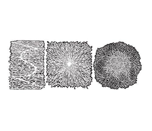 3 Stencils aerografo ARTOOL 'Texture FX2'
