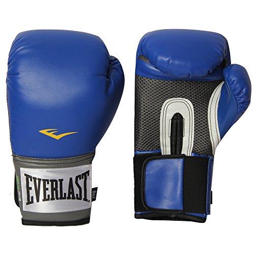 Everlast Pro Style Training Boxing Gloves (Blue, 10oz)