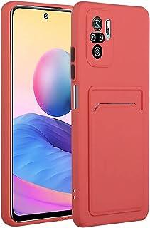 Molg Xiaomi Redmi Note 10 Pro Max-Fodral [Skärmskydd] Ultratunna Mjuk TPU Silikon Stötsäker Stötfångare Omslag Med Kortpla...