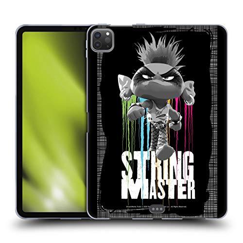Head Case Designs Licenciado Oficialmente Trolls World Tour String Monster Surtido Carcasa de Gel de Silicona Compatible con Apple iPad Pro 11 (2020/2021)