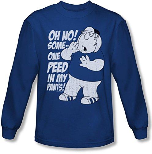 Family Guy - Männer in meinen Hosen Longsleeve T-Shirt, X-Large, Royal Blue