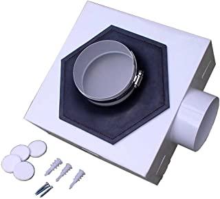 EZ Dryer Vent 036663559746 Dryer Vent System, 10' x 10' x 4', White