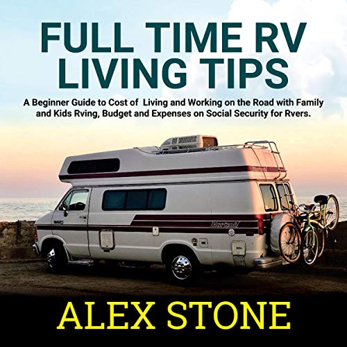 Full Time Rv Living Tips Handbook audiobook cover art