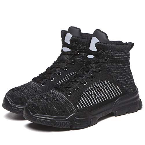 Werkschoenen met eindkap van staal, ademend, S1P