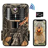 4K 30MP Trail Camera, WiFi Hunting Game Camera with H.265 Video,...