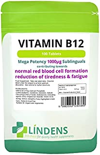 La vitamina B-12 1000mcg Alta Potencia 1-a-día-3 PACQUETE 300 pastillas sublinguales B B12