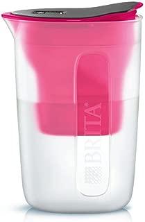 ブリタ 浄水 ポット 1.0L ファン ピンク ポット型 浄水器 カートリッジ 1個付き 【日本仕様・日本正規品】