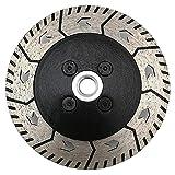 Slscyx Disco de pulido de diamante de 180 milímetros abrasivos herramienta de hormigón consumibles rueda metalúrgica corte mampostería taza hoja de sierra