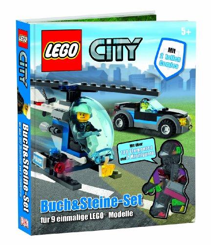 LEGO City Buch & Steine-Set: für 9 einmalige LEGO Modelle