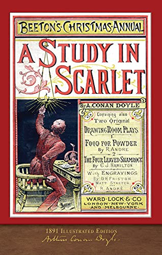 A Study in Scarlet (1891 Illustrated Edition): 100th Anniversary Collection (English Edition)