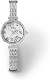 زايروس ساعة يد للنساء، انالوج بعقارب، معدن - ZAM003L111129