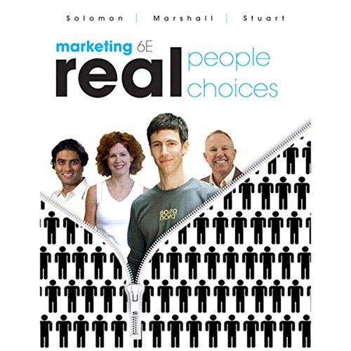 VangoNotes for Marketing     Real People, Real Choices, 6/e              Autor:                                                                                                                                 Michael Solomon,                                                                                        Greg Marshall,                                                                                        Elnora Stuart                               Sprecher:                                                                                                                                 Ax Norman,                                                                                        Elenna Stauffer                      Spieldauer: Noch nicht bekannt     Noch nicht bewertet     Gesamt 0,0