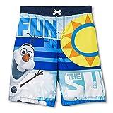 Disney Little Boys Olaf Swim Trunk Fun in the Sun (4-5)