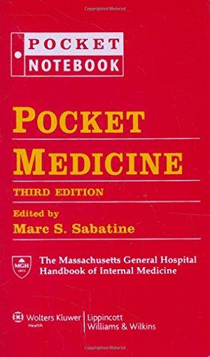 Pocket Medicine: The Massachusetts General Hospital Handbook of Internal Medicine (Pocket Notebook Series)