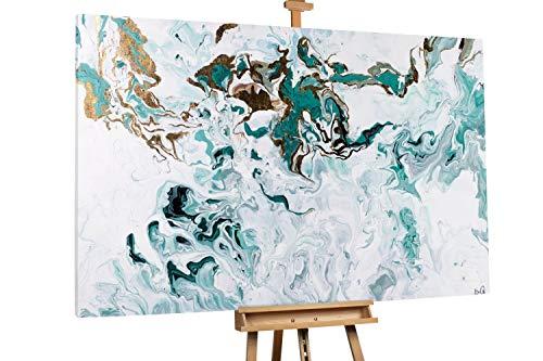 Kunstloft® Extraordinario Cuadro óleo 'Espejo Alma'