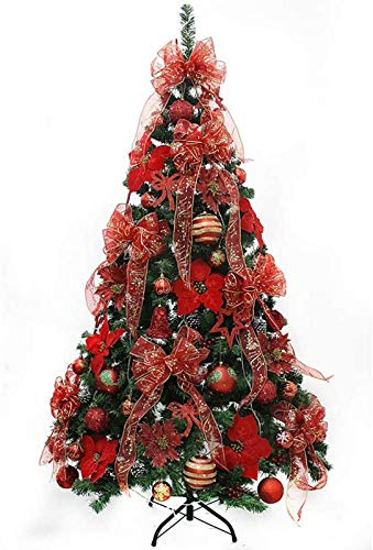ZGYQGOO Christmas Tree, Detachable Alpine 4Ft Artificial Christmas Tree, Pre-Lit Premium with Decoration Christmas Tree for Holiday Decoration Xmas Tree