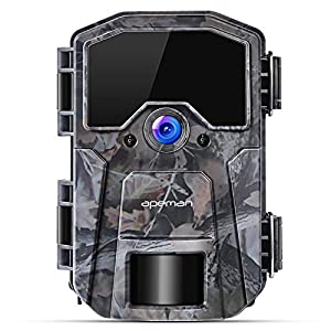 APEMAN Wildlife Camera 20MP 1080P Trail Camera, Night Detection Game Camera with No Glow 940nm IR LEDs, Time Lapse, Timer, IP66 Waterproof Design
