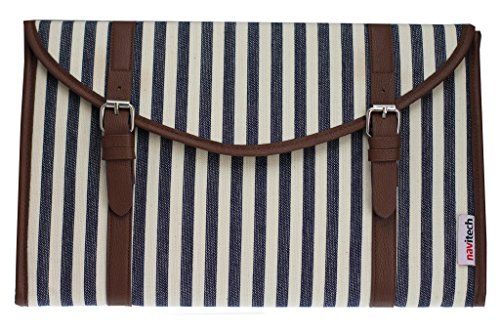 Navitech Canvas Fabric Style Laptop Sleeve Bag Case Cover Compatible With The Lenovo Yoga 710 14