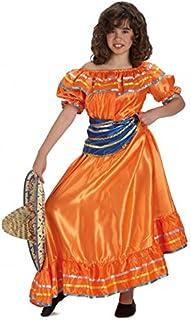 Disfraz mejicana infantil. Talla 5/6 años.: Amazon.es: Juguetes y ...