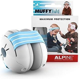 Alpine Baby Muffy Casque Anti bruit bébé Protection Auditive pour bebe et tout-petits..