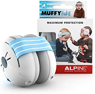 Alpine Hearing Protection Muffy Baby Ear Protection–Baby Ear Muffs–Noise Protection..