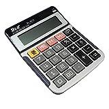Calculator, YEBMoo Basic Calculator, Solar Battery Office Desktop Calculator (Calculator)