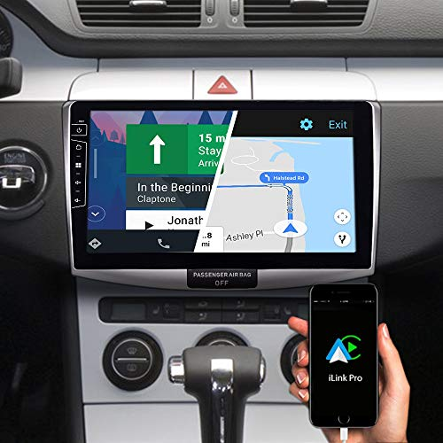 DYNAVIN Autoradio Navi für VW Passat B6, 10,1 Zoll OEM Radio mit Bluetooth, inkl. DAB+, USB, Kompatibel mit Carplay und Android Auto: DX-V-B6S Flex