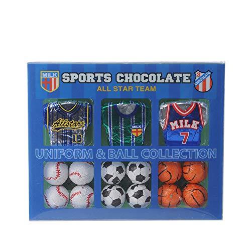スポーツ チョココレクション(野球、サッカー、バスケットボール)[バレンタイン 2021 おもしろ チョコレート おもしろチョコ 面白い][義理チョコ キャラクター 子供]