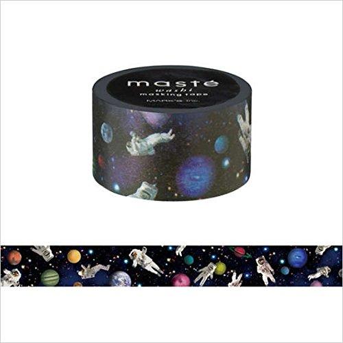 Marks Maste Washi Tape (Astronaut / 20 mm)