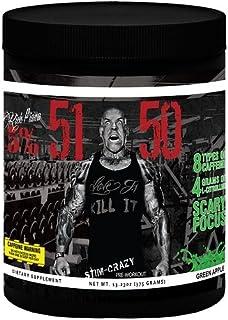 Rich Piana 5% Nutrition 5150 Pre Workout (Green Apple) 13.23OZ (375 Grams) 30 Servings (International Version)