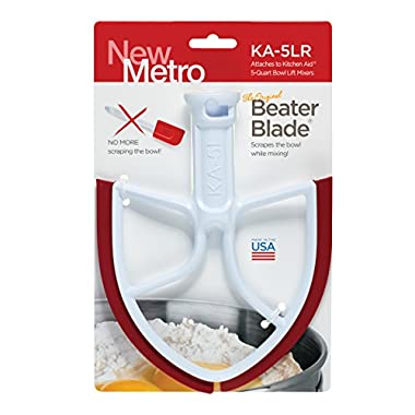 Original Beater Blade for KitchenAid 5-Quart Bowl Lift Mixer, KA-5LR, Red, Made in USA
