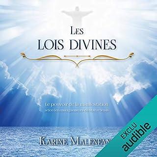 Couverture de Les lois divines. Le pouvoir de la manifestation selon les enseignements du Maître Jésus