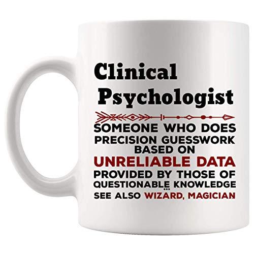 Divertido psicólogo clínico taza del regalo - 11oz taza de café - mejores regalos para mujeres de los hombres de la camiseta tazas de las tazas