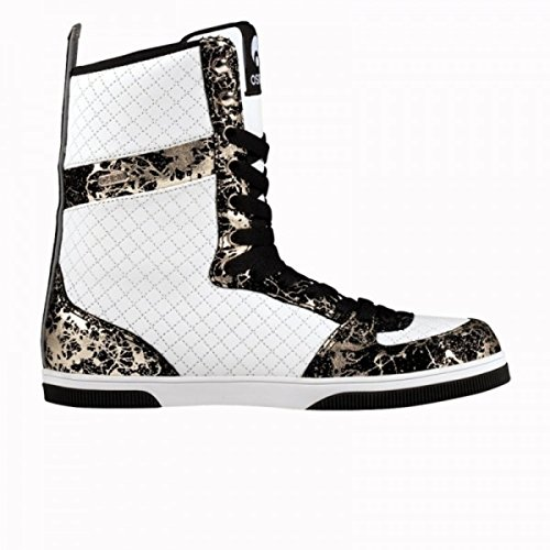 Osiris Uptown Ltd Girls Boot White/Black/Silver - Snowboard Boot, Schuhgrösse:37.5
