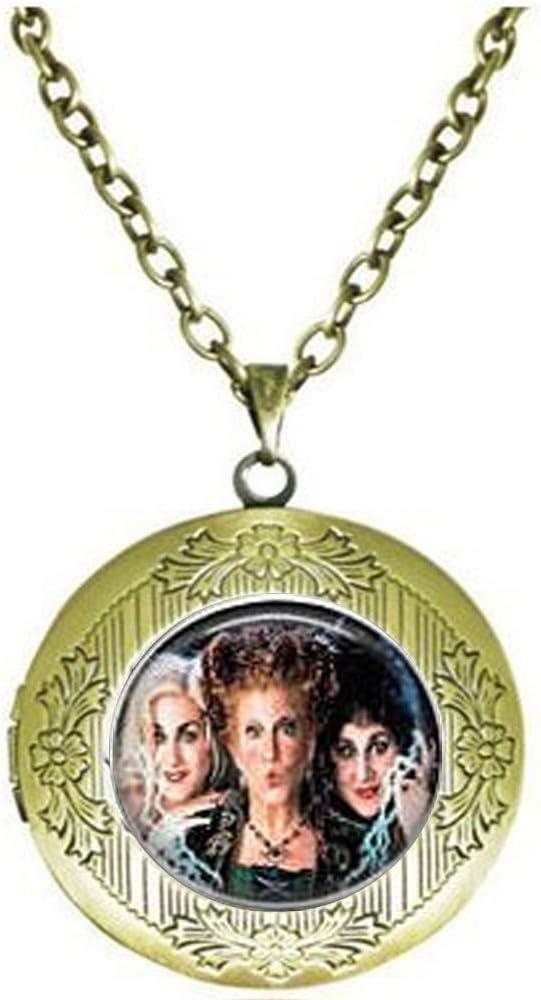 Hocus Pocus Poster Locket Necklace