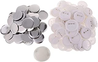 shamjina 58mm Button Parts for Badge-A-Minit Button Making Machine - 100 Pack