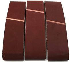 STEDMNY Schuurband 5 stks 100x915mm A/O Schuurriemen 80/120/240/600/1000 Grit Grof tot fijn slijpen riem slijper Accessoires