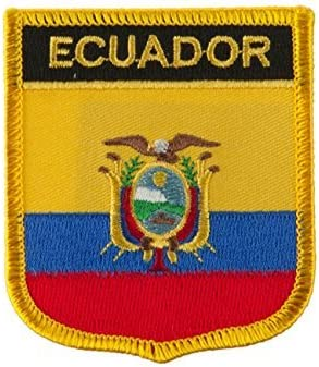 Ecuador Flag Badge At the price of surprise Shield Parche Iron On with National Patch Sym Outlet ☆ Free Shipping