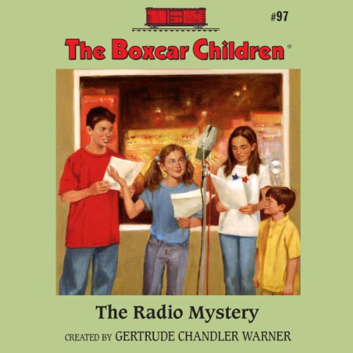 The Radio Mystery audiobook cover art