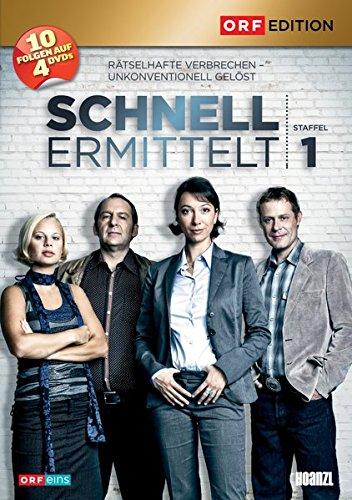 Produktbild Schnell ermittelt - Gesamtbox 1. Staffel: Folge 1-10 [4 DVDs]