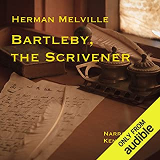 Bartleby, the Scrivener: A Story of Wall-Street                   By:                                                                                                                                 Herman Melville                               Narrated by:                                                                                                                                 Ken Cohen                      Length: 1 hr and 40 mins     19 ratings     Overall 4.6