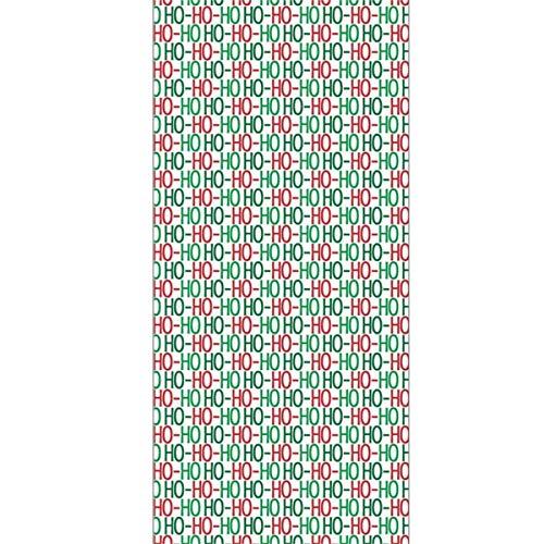 Ho Ho Ho Sinterklaas Sint Nick Kerst Patroon In Groen En Rood Originele Haar Handdoek Ultra Absorbens & Snelle Drogen Microvezel Handdoek Voor Fijn & Delicaat Haar (11.8 X 27.5 Inch)