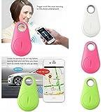 BuyBack Anti-Lost/Theft Device - Smart Key Finder, Bluetooth Locator, GPS Pet Tracker, Alarm Wireless Anti-Lost Sensor, Selfie Shutter Seeker for Pets, Kids, Wallet, Keys, Cars[Random Color]