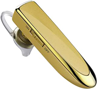 Bluetooth Headset - Wireless Sports Bluetooth Headset - in-Ear - Sports - Call (Color : Yellow)