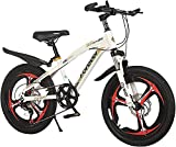 bicicleta correpasillo niño Bicicleta Al Aire Libre De 18 Pulgadas / 20 Pulgadas Para Niños Para Niños De 7 A 14 Años Niñas Ciclismo | Bicicleta De Ajuste De 7 Velocidades, Marco De Alto Carbono