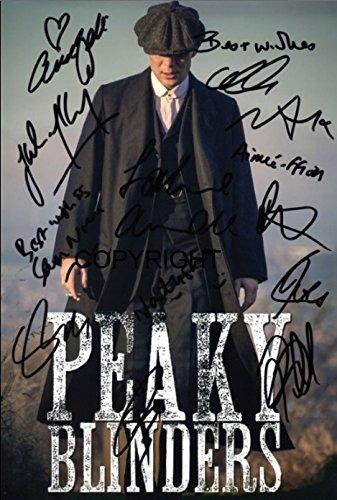 Edición limitada Fotografía firmada por el reparto de Peaky...