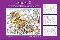 color me 2 spiral bound 2011 by pamela smart - Color Me Books