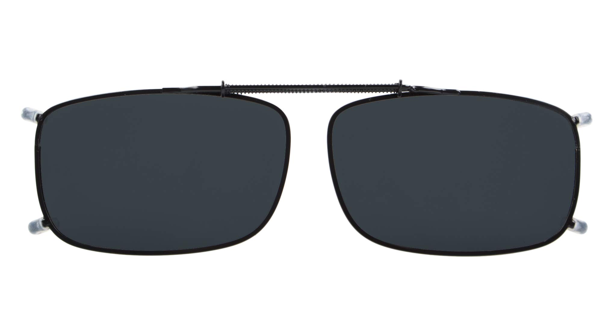 55mmx35mm Metal Frame Polarized Sunglasses