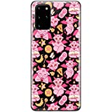 Lex Altern TPU Case Compatible with Samsung Galaxy S21 Note 20 Plus S20 Ultra S10 5G 9 Print Slim Kawaii Baphomet Lightweight Sabbatic Goat Clear Satan Protective Cover Cute Silicone Pink phh350