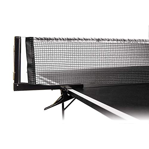Check Out This Franklin Sports Table Tennis Net – Portable and Easy Setup That Fits Most Ping Pong Tables – Adjustable Net Tension Great for Family Fun Or Pro Play!